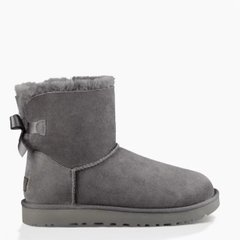 "UGG Mini Bailey Bow ""Grey"", 36"