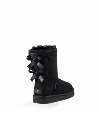 "UGG BAILEY BOW II BOOT ""BLACK"", 36"
