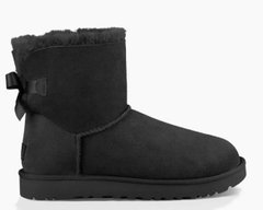 "UGG MINI BAILEY BOW II BOOT ""BLACK"", 40,5"