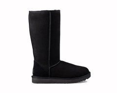"UGG CLASSIC TALL II BOOT ""BLACK"", 37"