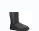 "UGG BABY CLASSIC II BOOT LEATHER ""BLACK"", 33"