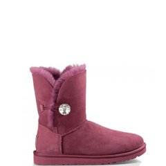"UGG BAILEY BUTTON II BLING BOOT ""BORDO"", 36"