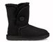 "UGG BABY BAILEY BUTTON II BOOT ""BLACK"", 23"