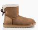 "UGG MINI BAILEY BOW II BOOT ""CHESTNUT"", 40"