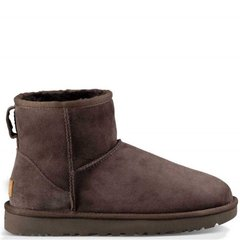 "UGG CLASSIC MINI II BOOT ""CHOCOLATE"", 36"