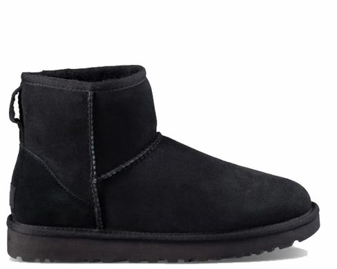 "UGG CLASSIC MINI II BOOT ""BLACK"", 40"